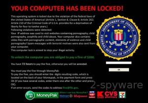FBI föreslår att undvika internetviruse som utger sig för att vara dom.