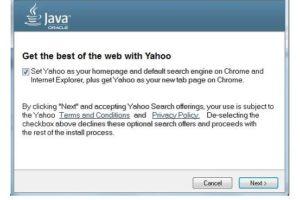 Oracle har beslutat att ersätta Ask med Yahoo! i Javauppdateringar