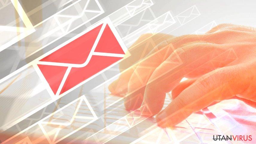Hur identifierar man ett mejl som är infekterat med ett virus?