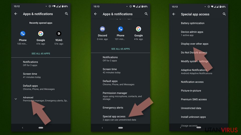 Check if can display over other Apps Android