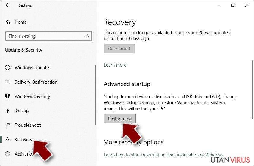 Utpressningsprogram: Manuell borttagning av utpressningsprogram (ransomware) i Felsäkert läge