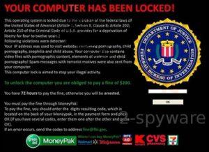 Det här är 'FBI Online Agent' – en förbättrad version av 'FBI virus'