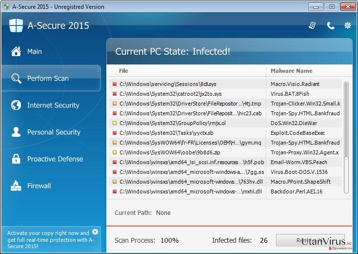 A-Secure 2015 ögonblicksbild