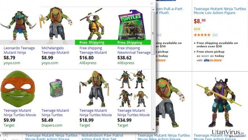 Annonser från AllStarDeals ögonblicksbild