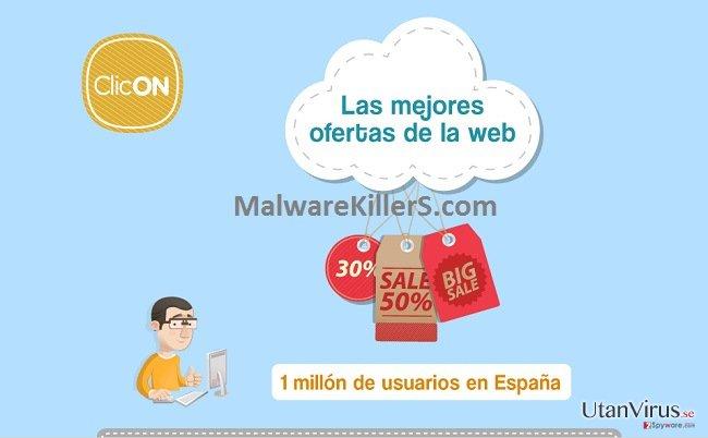 Annonser från Clicon ögonblicksbild