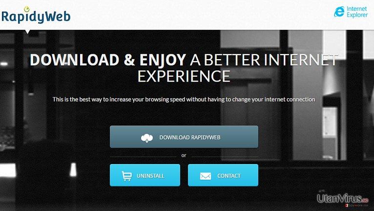 Annonser från RapidyWebIE ögonblicksbild