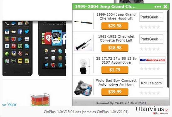 Annonser från RoccketSale ögonblicksbild