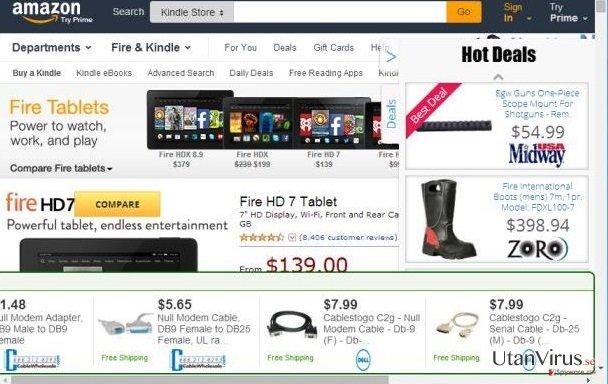 Annonser från Shoppy-Up ögonblicksbild
