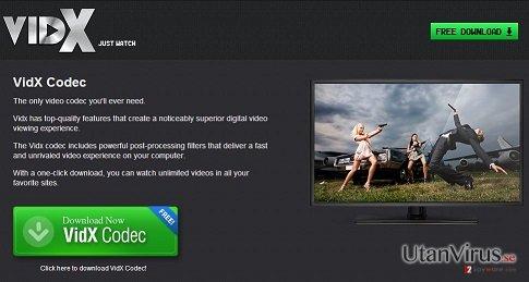 Annonser från Vidx ögonblicksbild