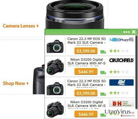 Annonser från WebSize ögonblicksbild