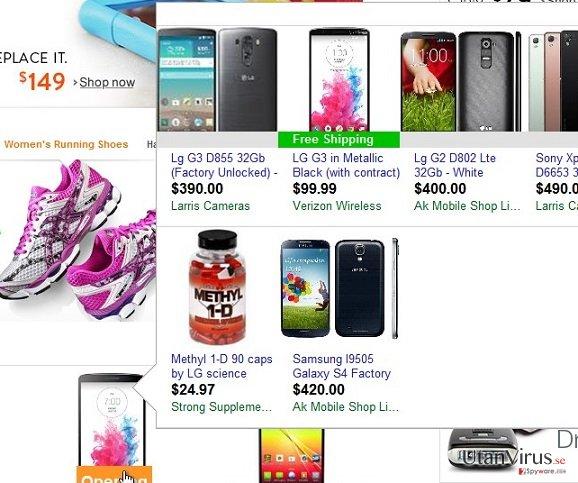 Annonser från ZoomApp ögonblicksbild