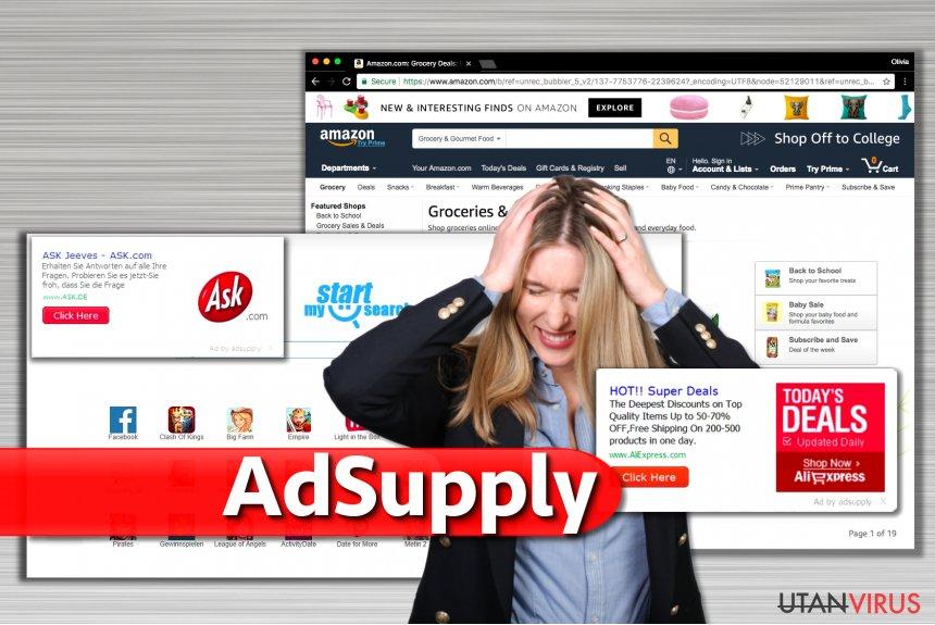 Annonser från Adsupply ögonblicksbild