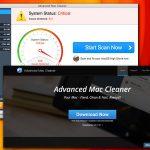 Advanced Mac Cleaner-viruset ögonblicksbild