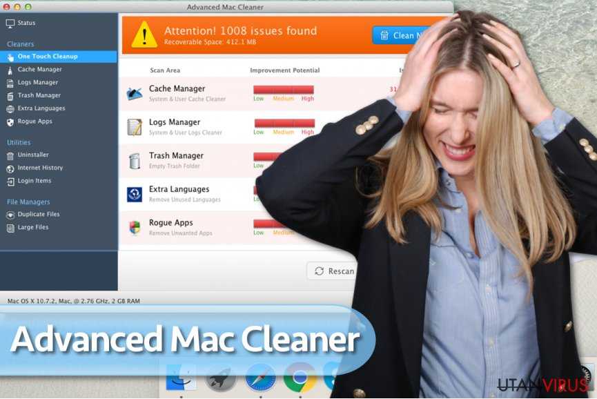Advanced Mac Cleaner-viruset