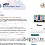 AFP virus ögonblicksbild