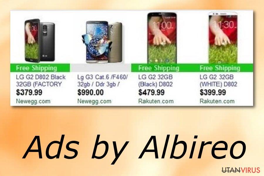 Albireo-annonser