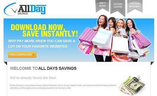 All Day Savings ögonblicksbild