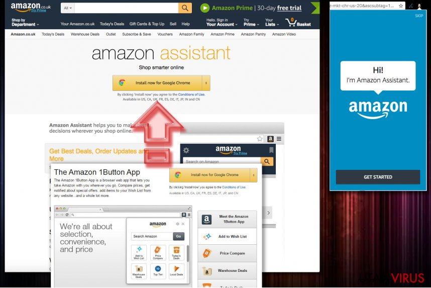 Amazon 1Button App