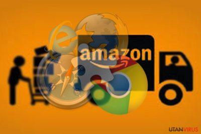Bildexempel på Amazon Assistant-viruset