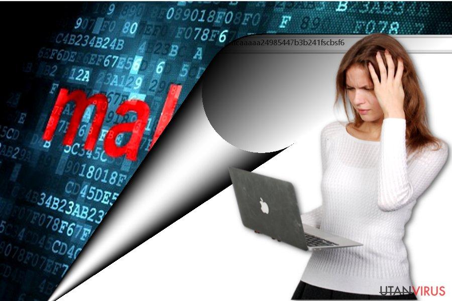 Bildexempel på Apple-panda.com-viruset