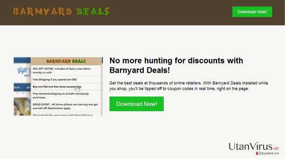 Viruset Barnyard Deals ögonblicksbild