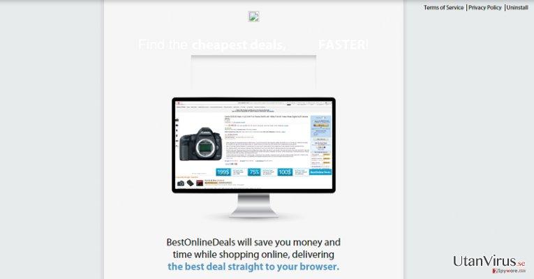 Annonser från Best Online Deals ögonblicksbild