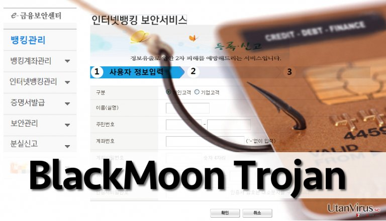 BlackMoon malware redirects to phishing websites