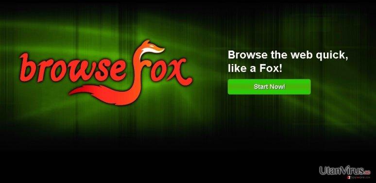 BrowseFox ögonblicksbild