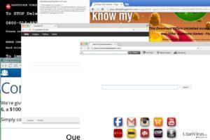Omdirigeringsviruset Browser