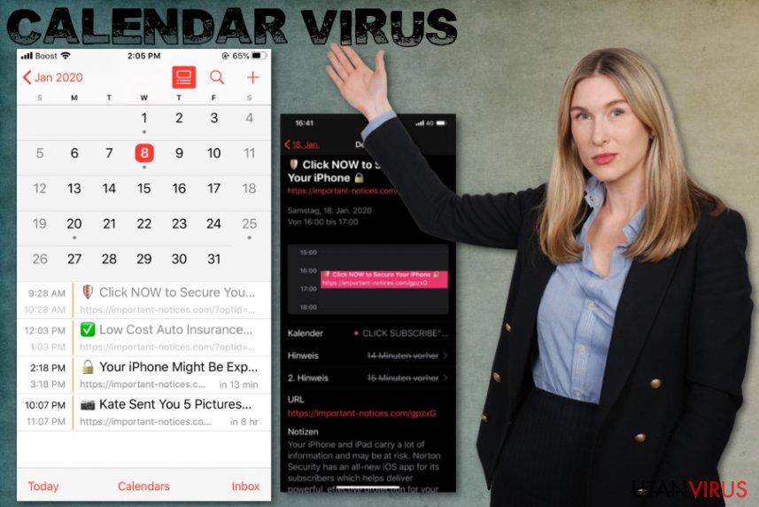 iPhone Kalenderviruset