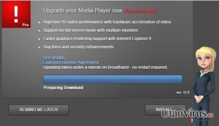 Popup-viruset Cdn.adsrvmedia.net ögonblicksbild