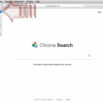 Chromesearch.win-viruset ögonblicksbild