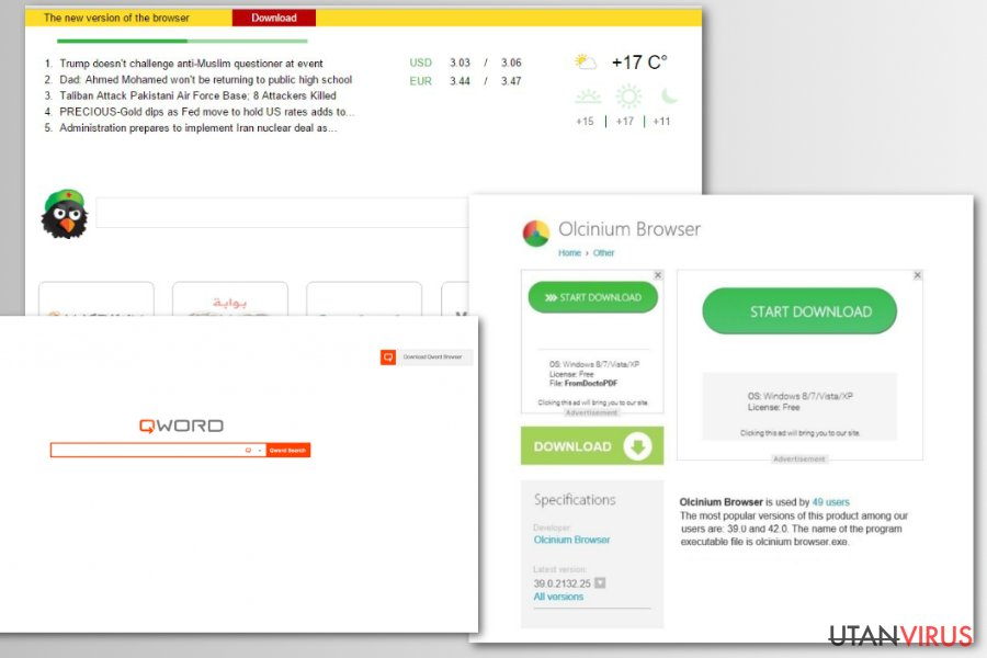 Chromium oäkta webbläsare