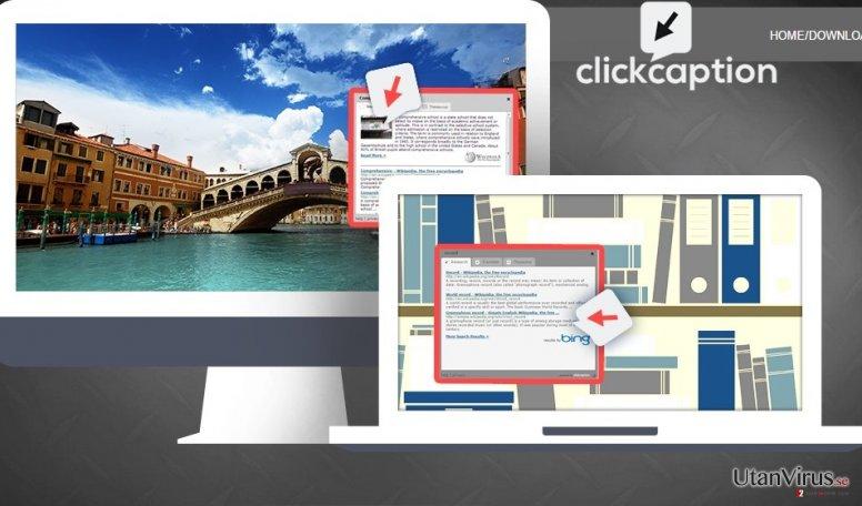 ClickCaption