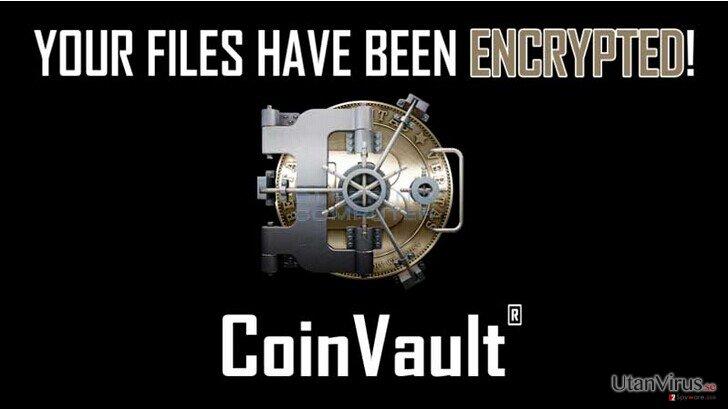 Viruset CoinVault ögonblicksbild