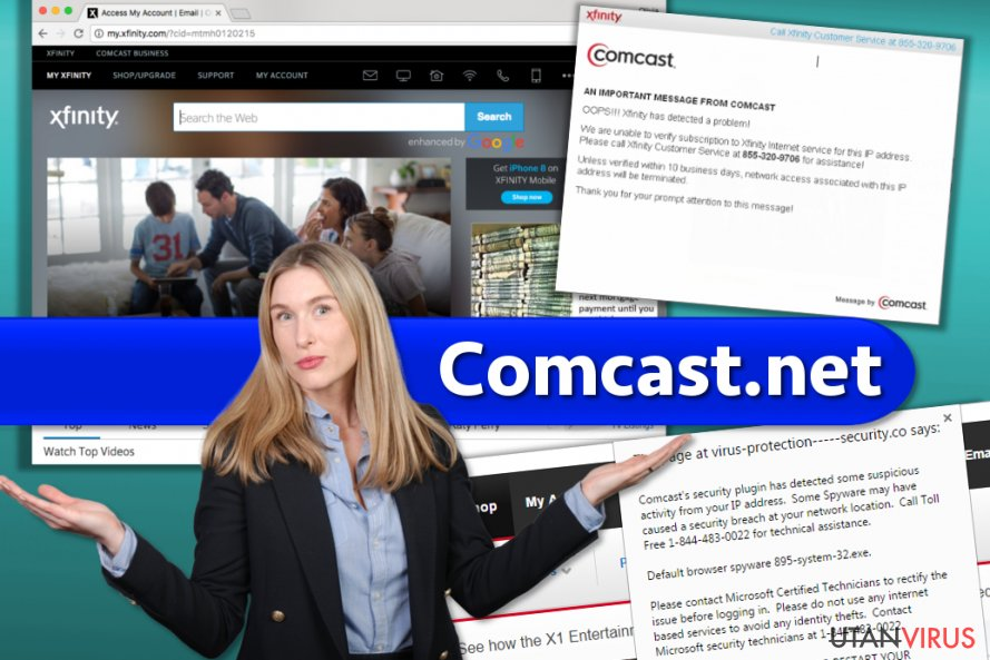 Comcast.net ögonblicksbild