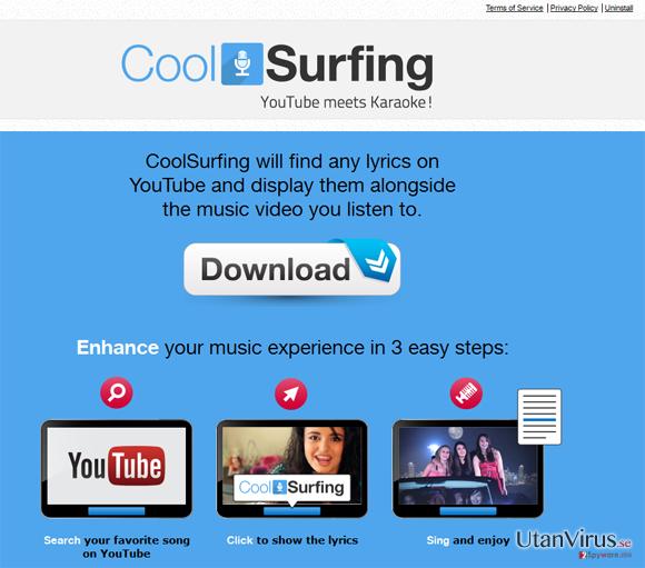 CoolSurfing ögonblicksbild