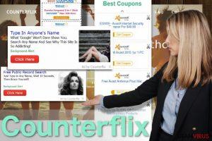 Counterflix-annonser