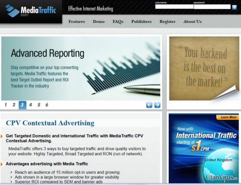 cpvfeed.mediatraffic.com omdirigeringar ögonblicksbild
