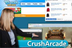 CrushArcade-annonser