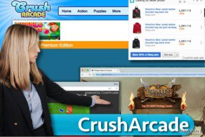 CrushArcade ads