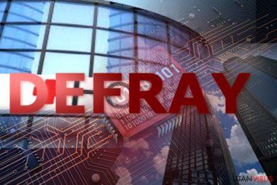 Exempel på Defray