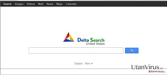 Delta-search.com redirect ögonblicksbild