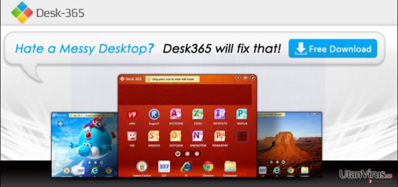 Desk 365 virus ögonblicksbild