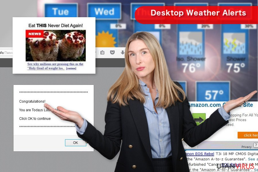 """Desktop Weather Alerts"" pop-up"