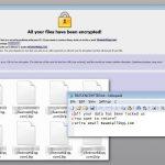 Dharma ransomware ögonblicksbild