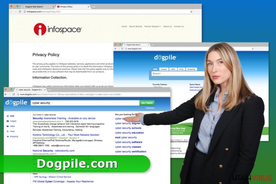 Dogpile.com ögonblicksbild
