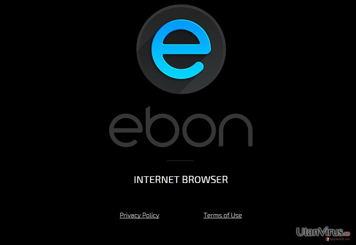 Viruset Ebon Browser ögonblicksbild
