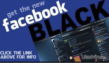 Facebook Change Color virus ögonblicksbild