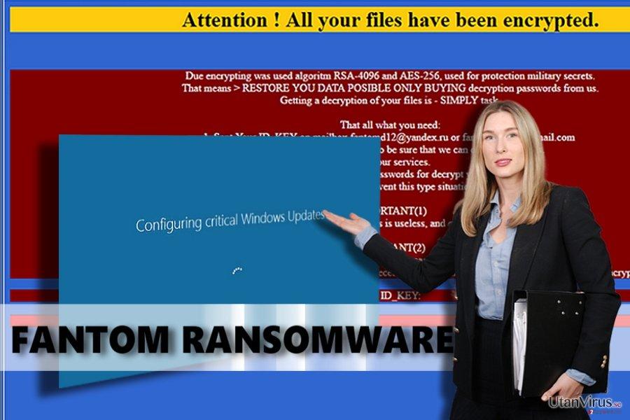 Fantom ransomware ögonblicksbild
